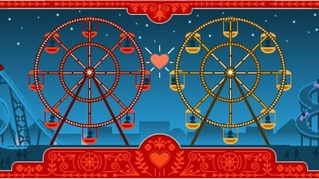 Google celebra San Valentín