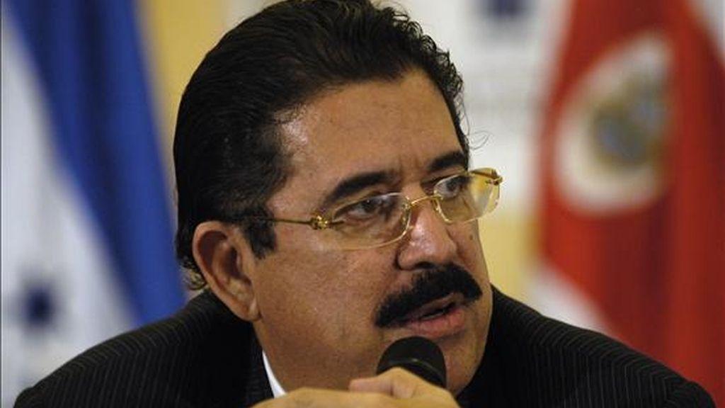 Tras la acción contra Zelaya surgieron numerosas versiones sobre detenciones de ministros y otros altos cargos de su Gobierno. EFE/Archivo