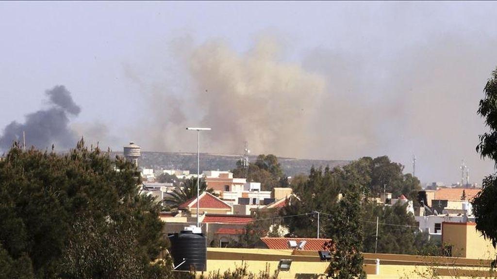 El Pentágono destacó que el ritmo de las operaciones en Libia continúa alto, según la portavoz de la OTAN, Oana Lungescu. EFE/Archivo