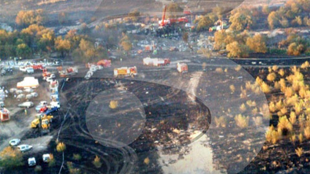 En el accidente murieron 154 personas y 18 resultaron heridas. Foto: Telecinco.