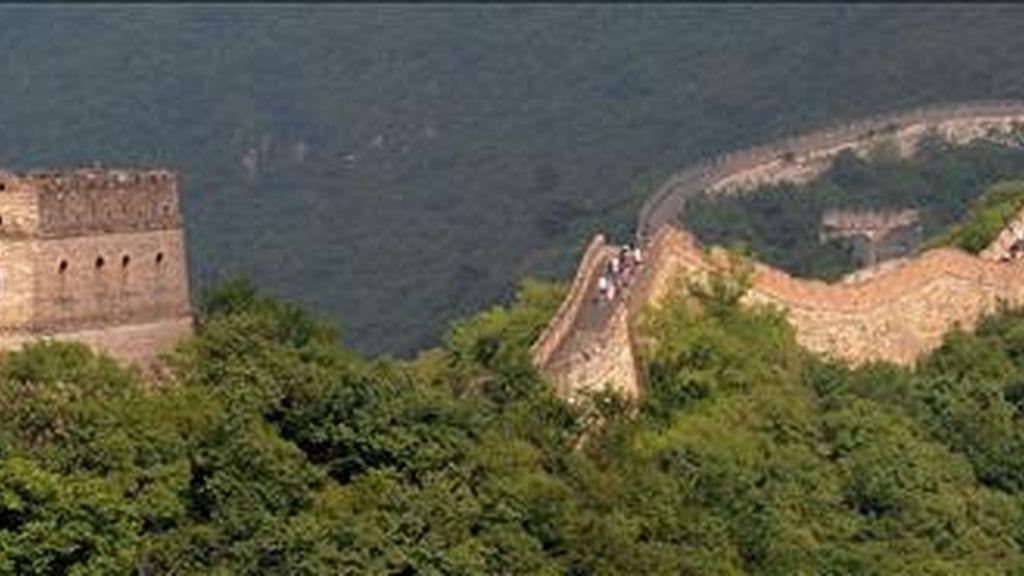 La Gran Muralla china mide 8.851,8 metros 2.000 más de lo que se  estimaba. EFE/Archivo