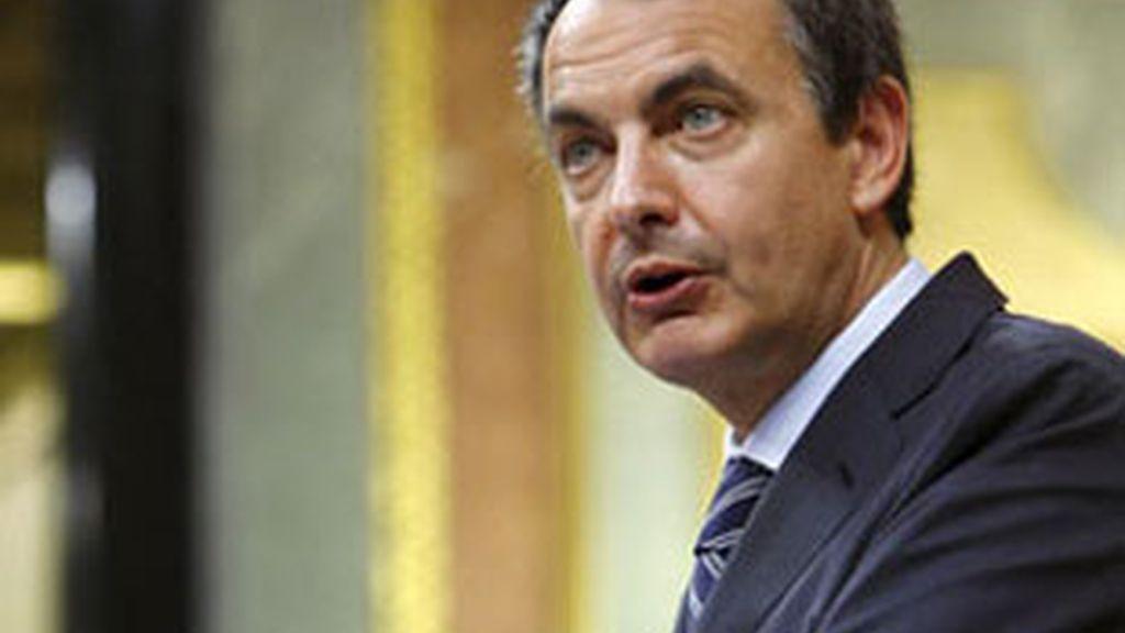 Imagen de archivo del presidente del Gobierno,  José Luis Rodríguez Zapatero. Foto. EFE.
