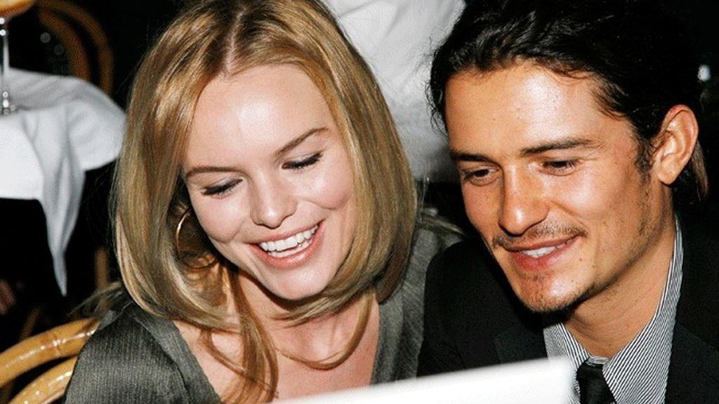 Orlando Bloom y Kate Bosworth