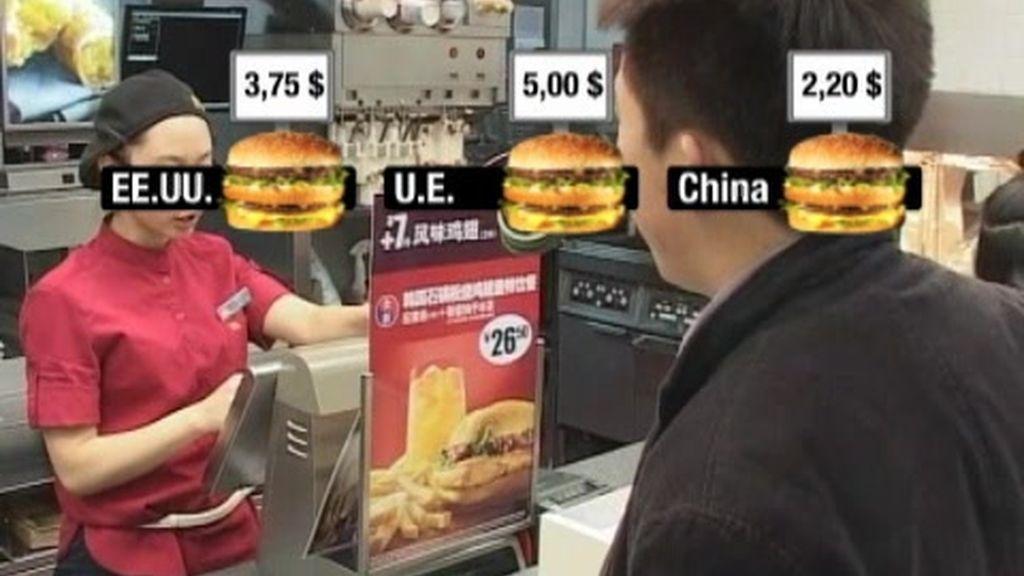 """Existe un índice para medir las divisas...el """"Big Mac"""""""