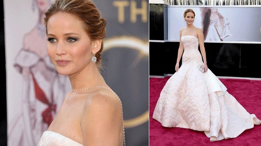 Jennifer Lawrence de Dior Alta Costura