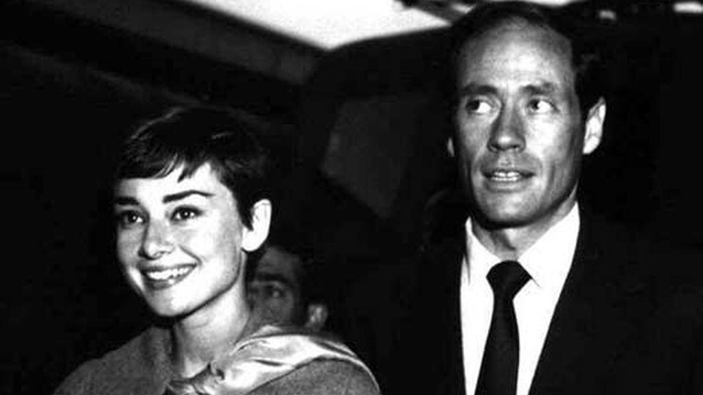 Casado con Audrey Hepburn. su tercera mujer. Video: Informativos Telecinco