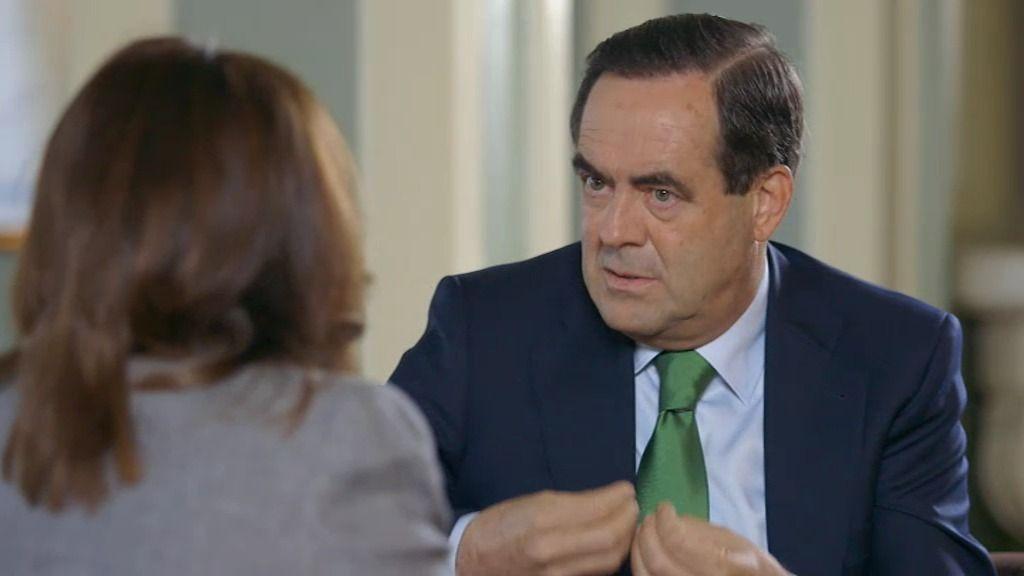 José Bono, gesto a gesto