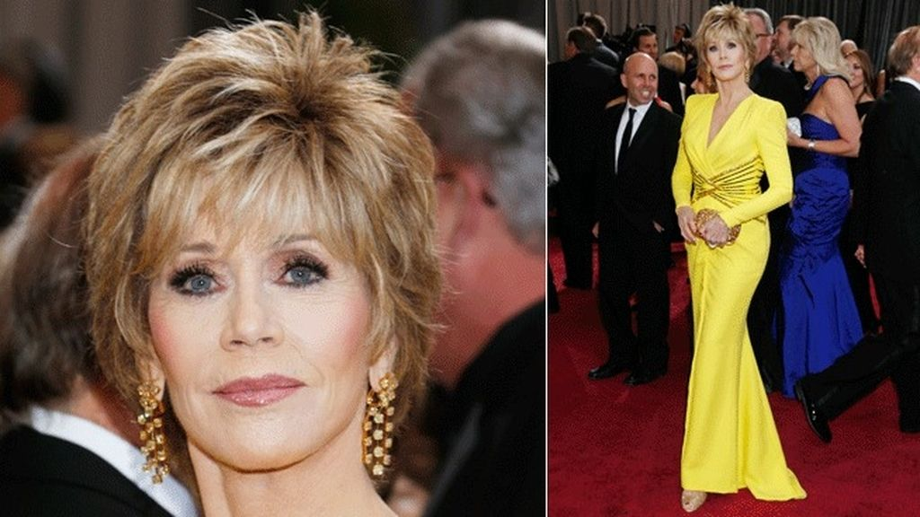 Jane Fonda muy atrevida de Versace