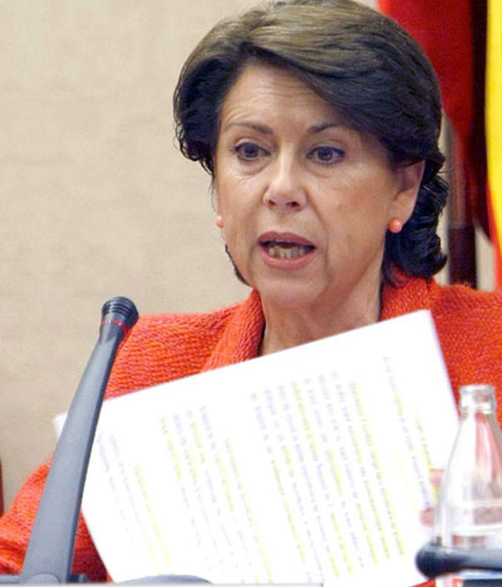 Magdalena Álvarez ha comparecido en el Congreso para presentar su proyecto en la próxima legislatura. Vídeo: ATLAS