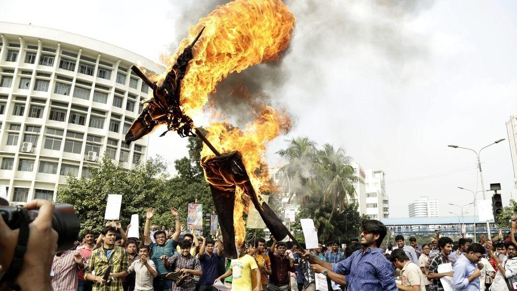 Protesta en Bangladesh
