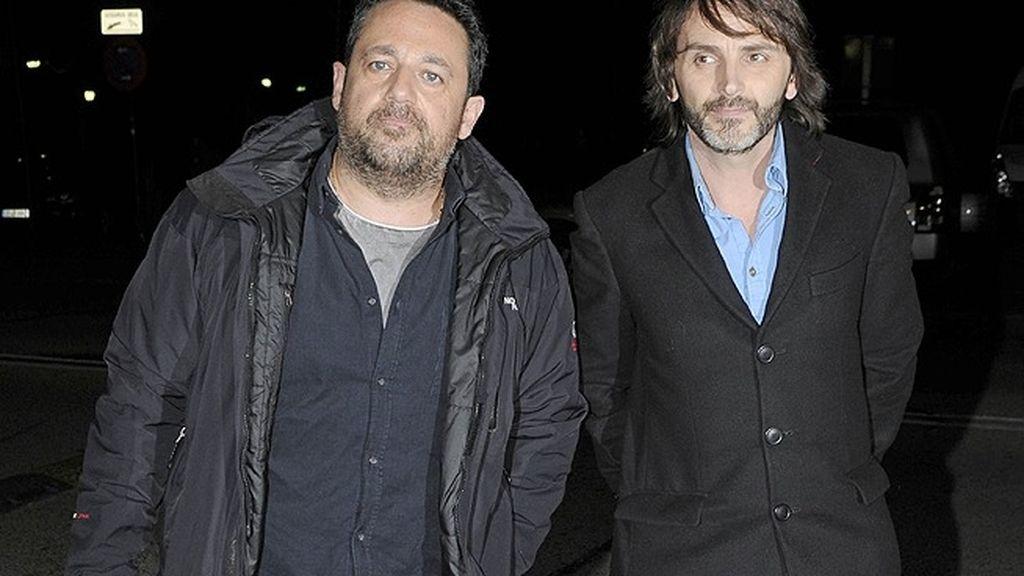 Los actores Pepón Nieto y Fernando Tejero