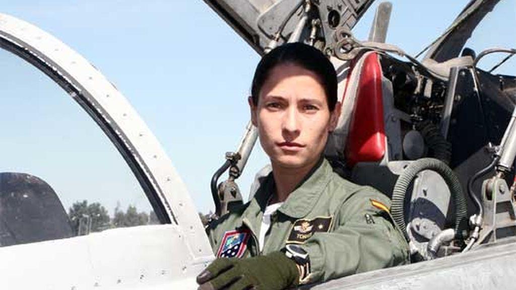 Rocío González ha sido la mejor de su promoción. Foto: Ministerio de Defensa
