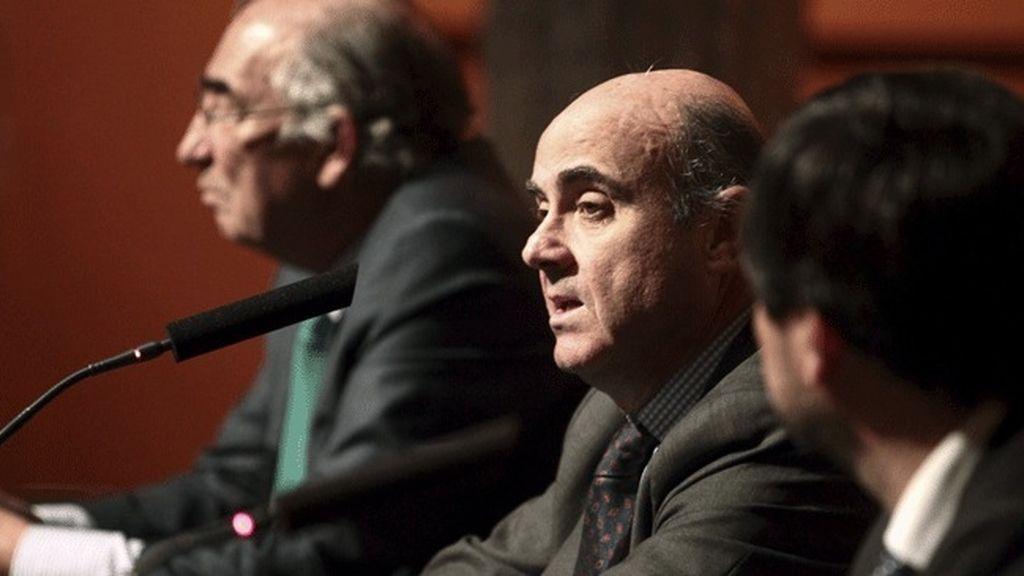 El ministro de Economía y Competitividad del Gobierno de España, Luis de Guindos