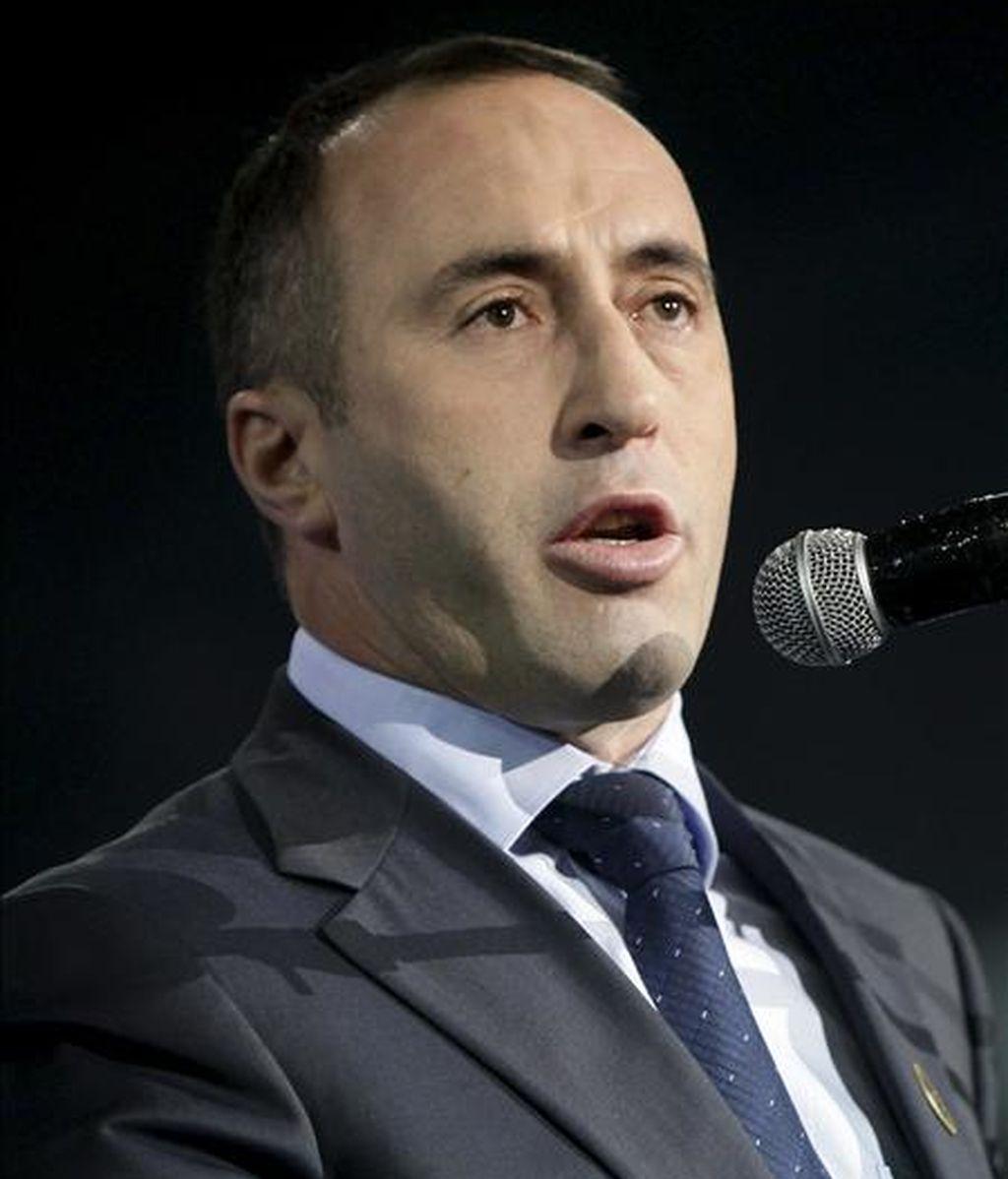 El líder del mayor partido opositor y ex primer ministro de Kosovo, Ramush Haradinaj. EFE/Archivo
