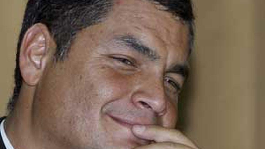 El presidente de Ecuador, Rafael Correa, en  una imagen de archivo. Foto: EFE