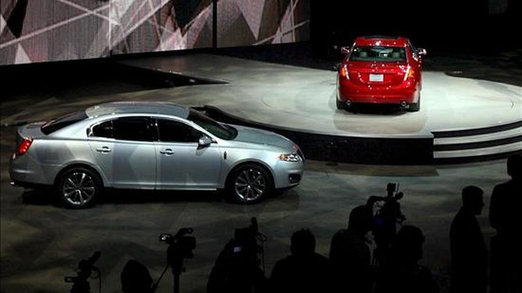 Ford aprovechará SAE 2009 para enseñar los aspectos técnicos del motor de 3,5 litros EcoBoost que el fabricante ha instalado en los Lincoln MKS 2010, Lincoln MKT y Ford Taurus SHO. EFE/Archivo