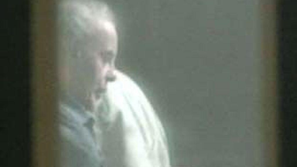 Josef Fritzl después de su detención. Foto: Informativos Telecinco
