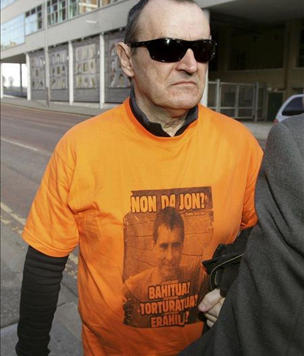 El ex preso etarra José Ignacio de Juana Chaos. EFE/Archivo