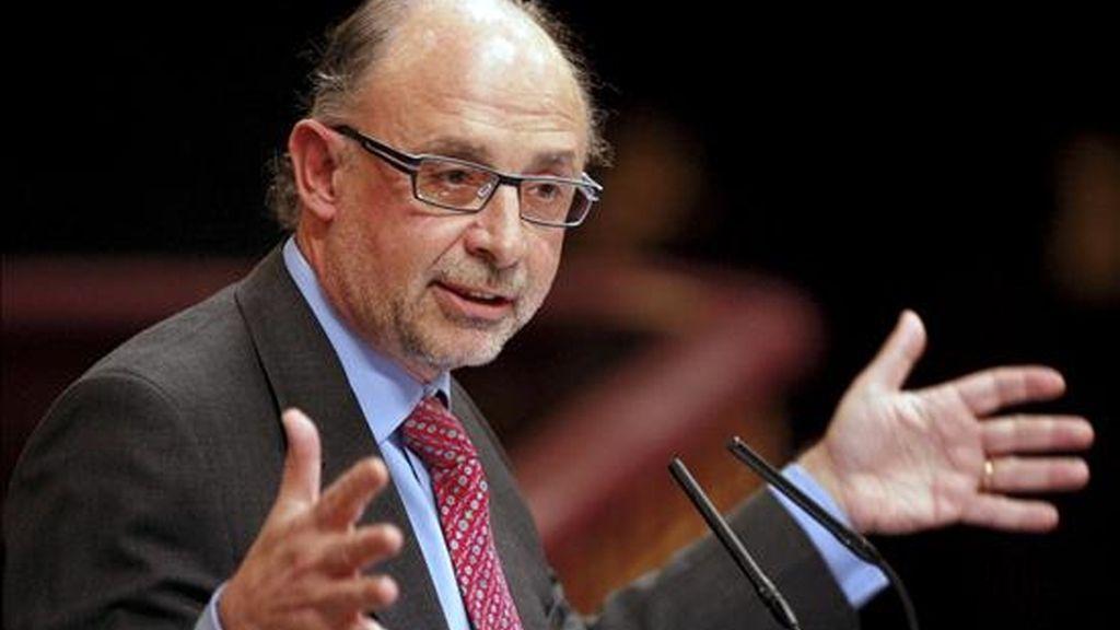 El portavoz de Economía del PP, Cristóbal Montoro. Vídeo: Atlas.