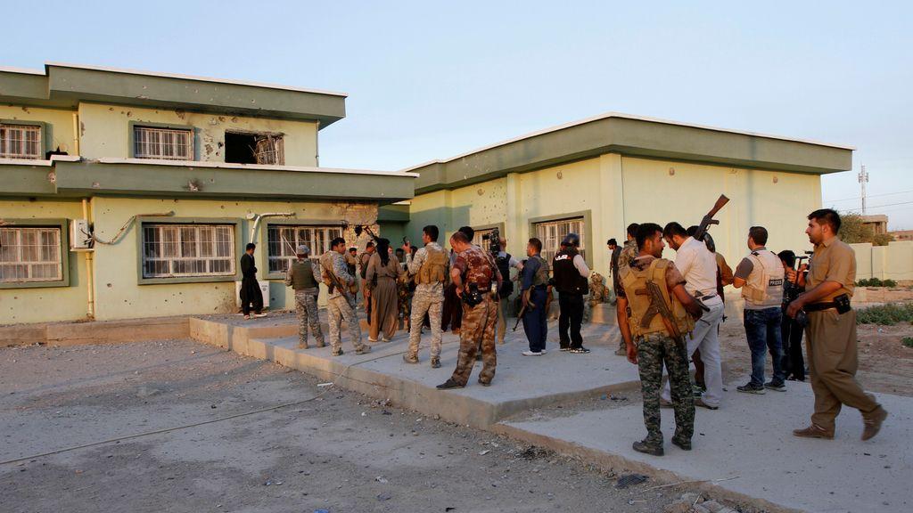 Reunión de las fuerzas de seguridad kurdas