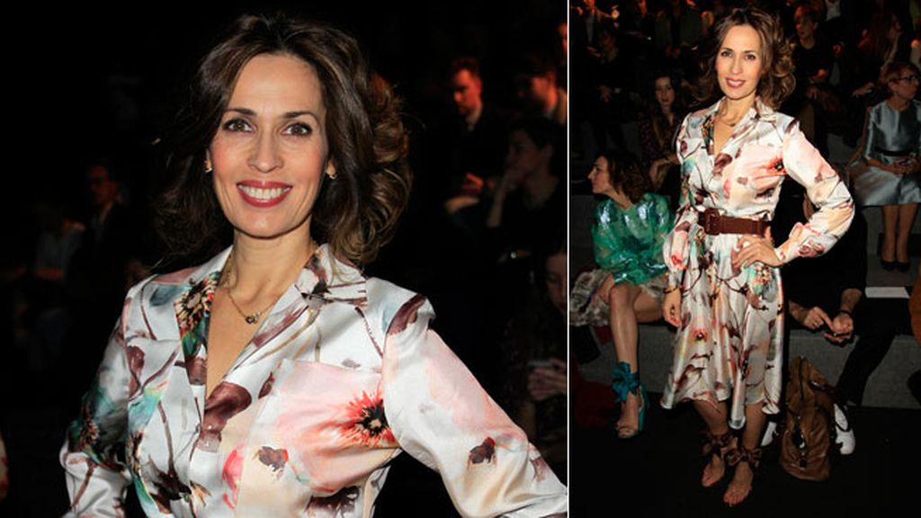Lola Marceli en el desfile de The 2nd Skin