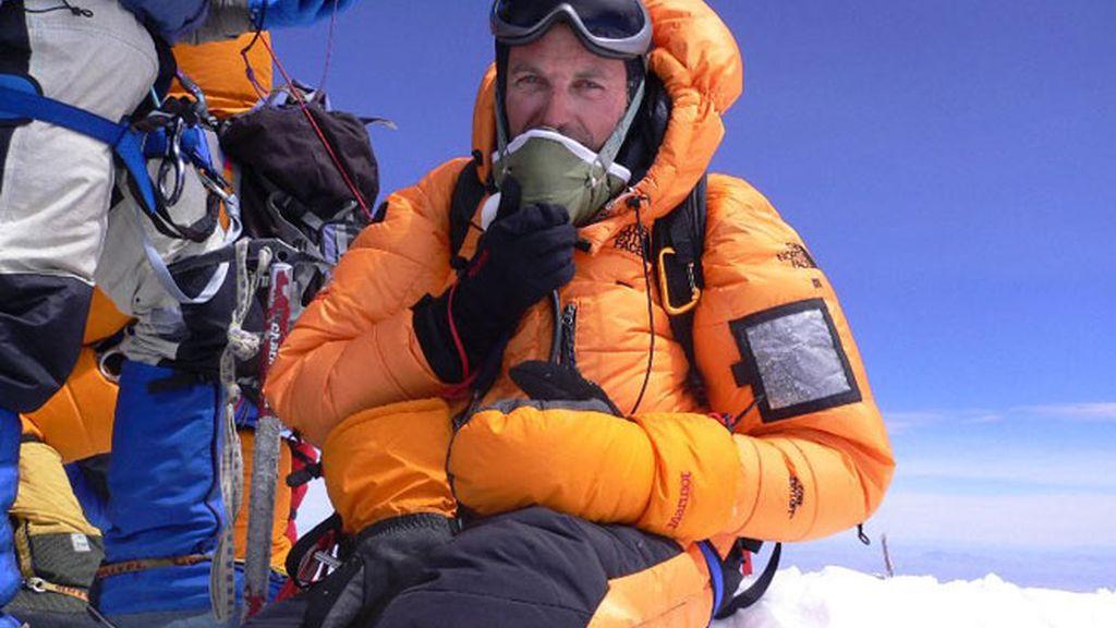 Jesús Calleja en el techo del mundo: el Everest