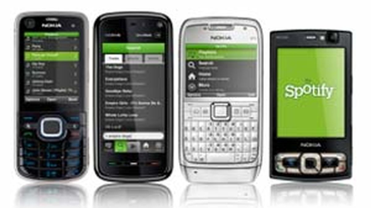 Spotify llega a los móviles con Symbian.