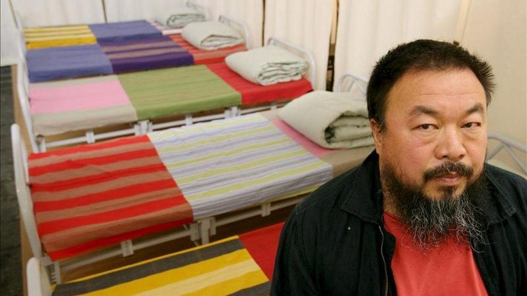 El artista chino Ai Weiwei. EFE/Archivo