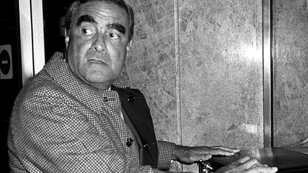 Fotografía de archivo fechada en febrero de 1983 del ex dictador argentino Emilio Massera, que será finalmente procesado en Italia por la muerte de tres ciudadanos italianos durante la dictadura en Argentina (1976-1983). EFE/Archivo