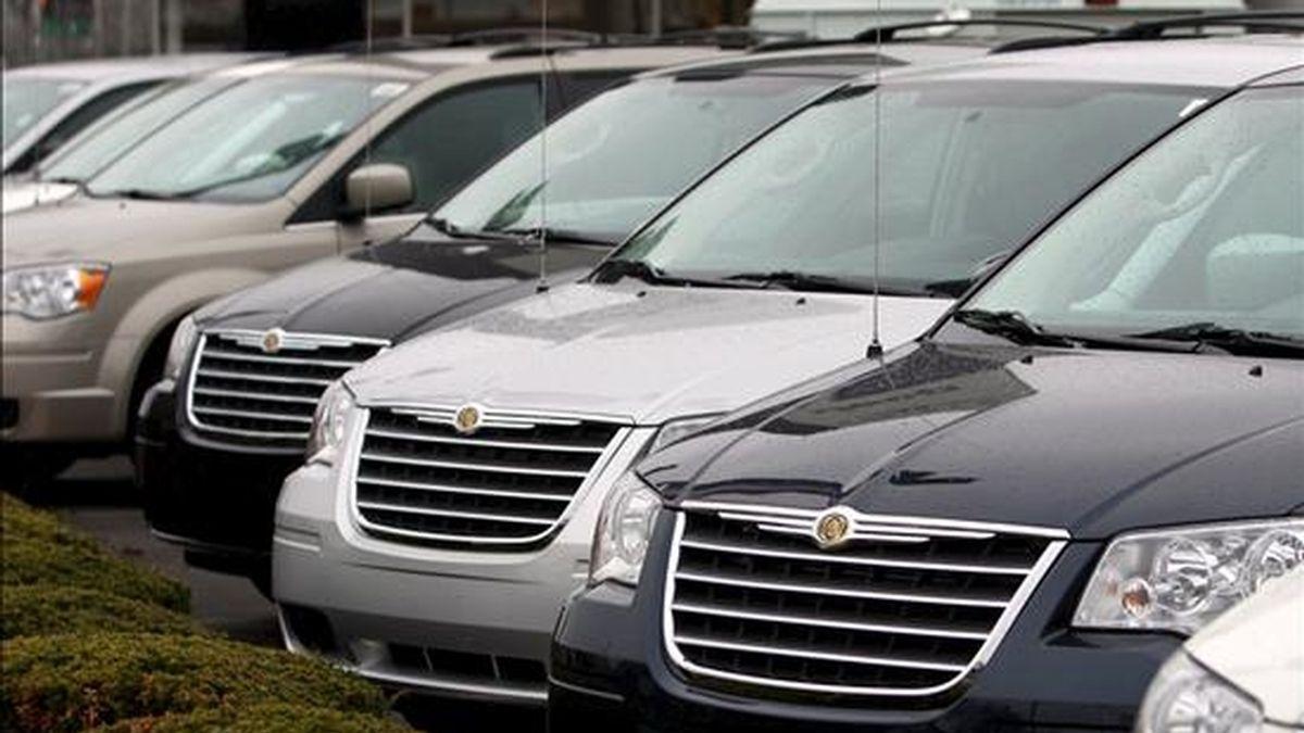 Los datos muestran que la bancarrota inminente de Chrysler y General Motors hizo que muchos consumidores acudieran a los concesionarios para aprovechar las rebajas en los precios. EFE/Archivo