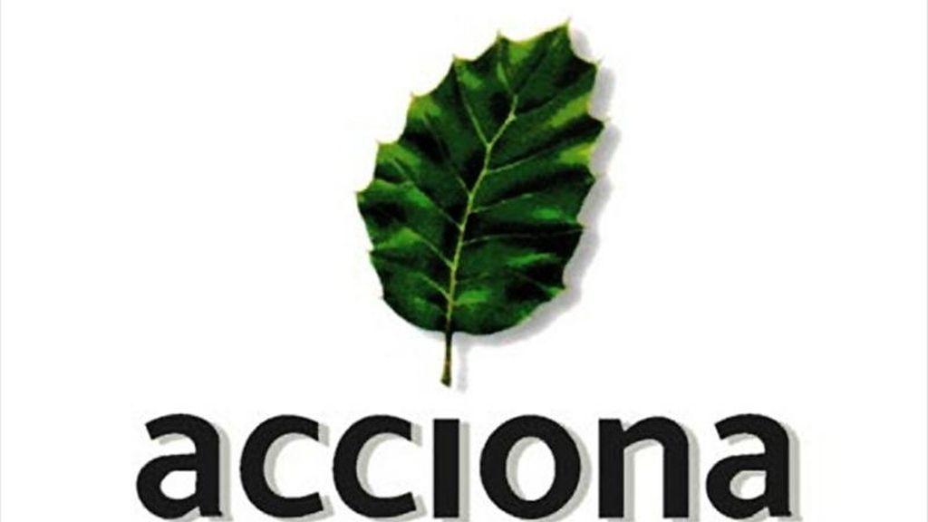 Logotipo de la empresa Acciona. EFE/Archivo