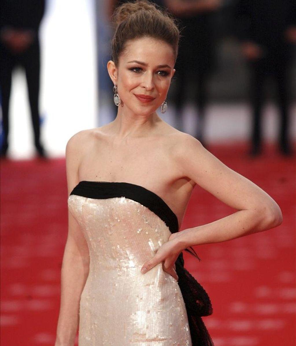 La actriz española Silvia Abascal. EFE/Archivo