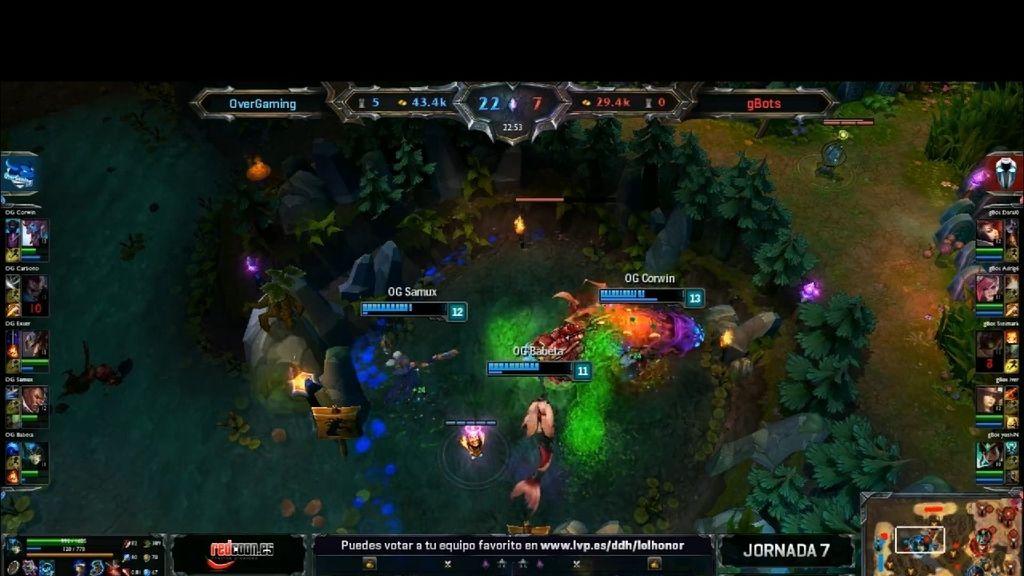 League of Legends, Partido 37, Nashor fallido OverGaming
