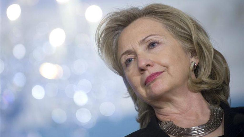 Imagen de la secretaria de Estado de EE.UU., Hillary Clinton. EFE/Archivo