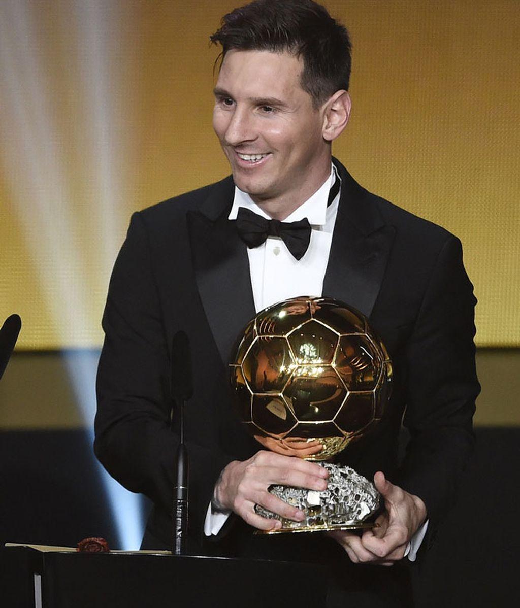 El día que Messi recibió el Balón de Oro vestido normal