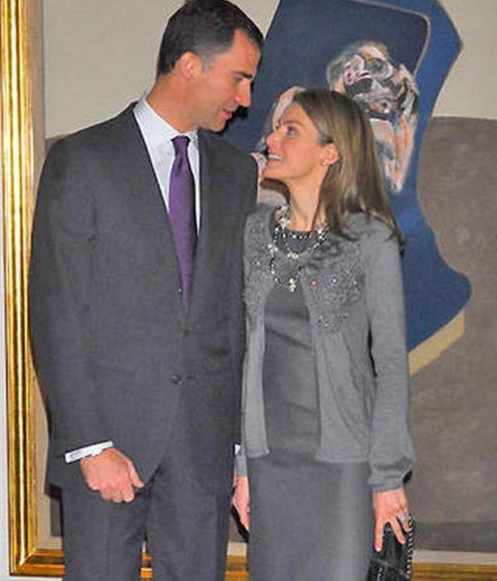 Los Príncipes de Asturias, enamorados