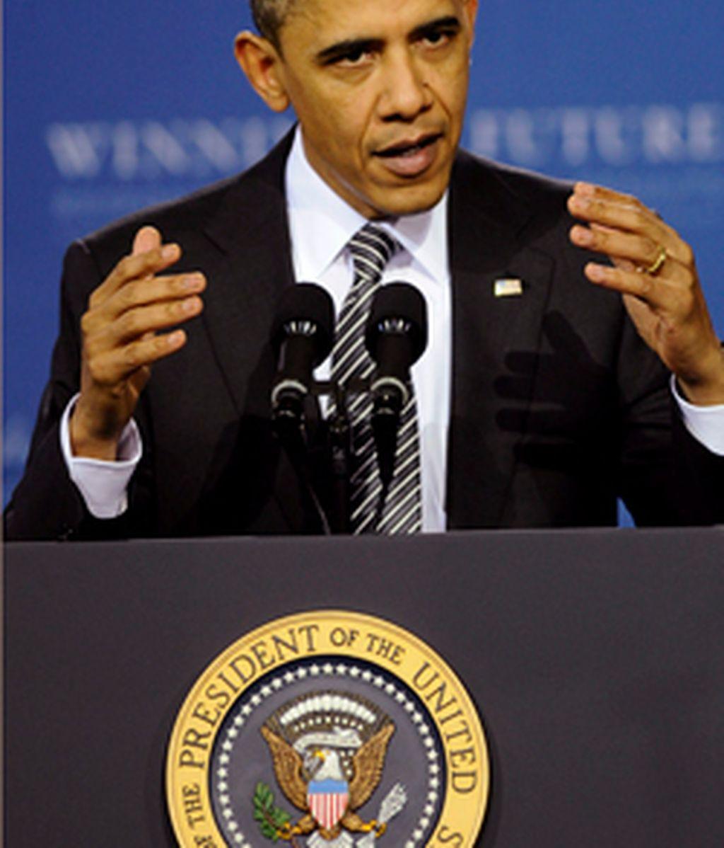 """La campaña de Obama podría reunir alrededor de 1.000 millones de dólares y que """"tendrá su base de operaciones en Chicago. Vídeo: ATLAS"""