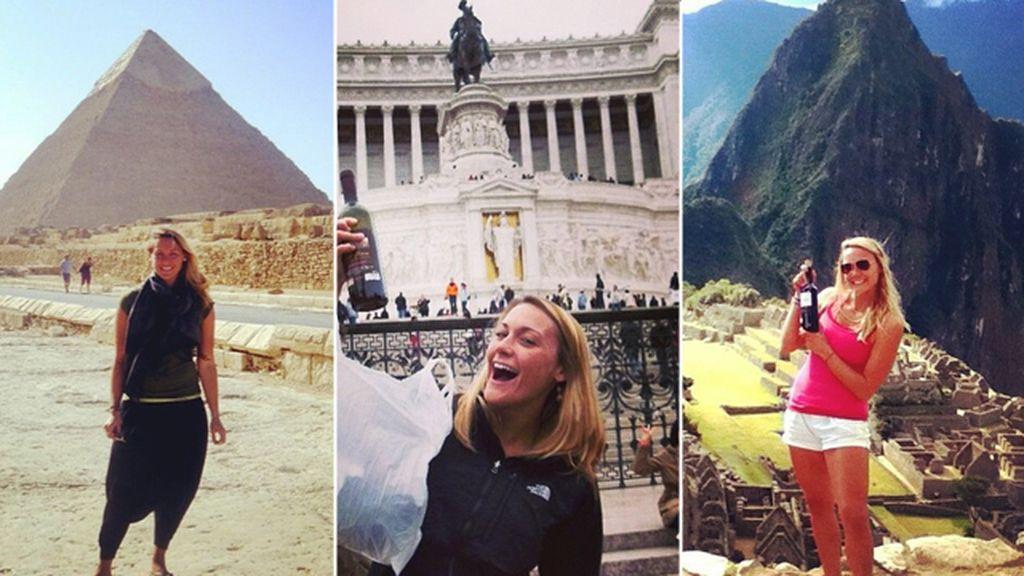 Cassandra De Pecol, pretende visitar todos los países del mundo