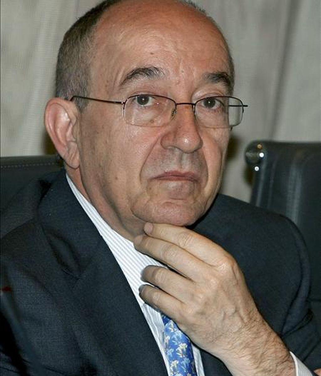 El gobernador del Banco de España, Miguel Fernández Ordóñez. EFE/Archivo