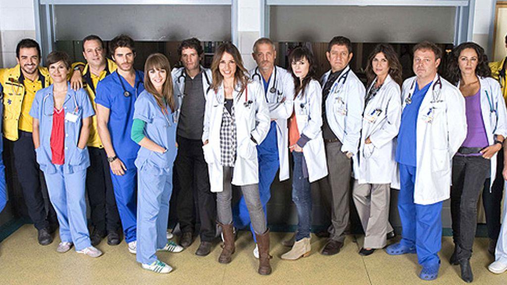 Las tramas que se tejerán entre todos los médicos que componen la plantilla de 'Hospital Central'