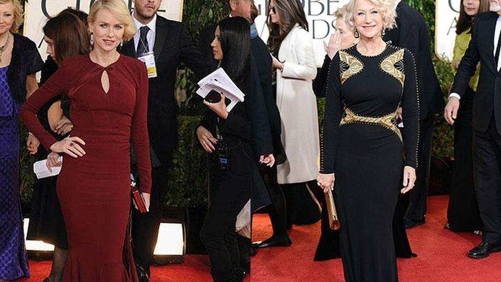 Naomi Watts y Helen Mirren, dos de las más elegantes