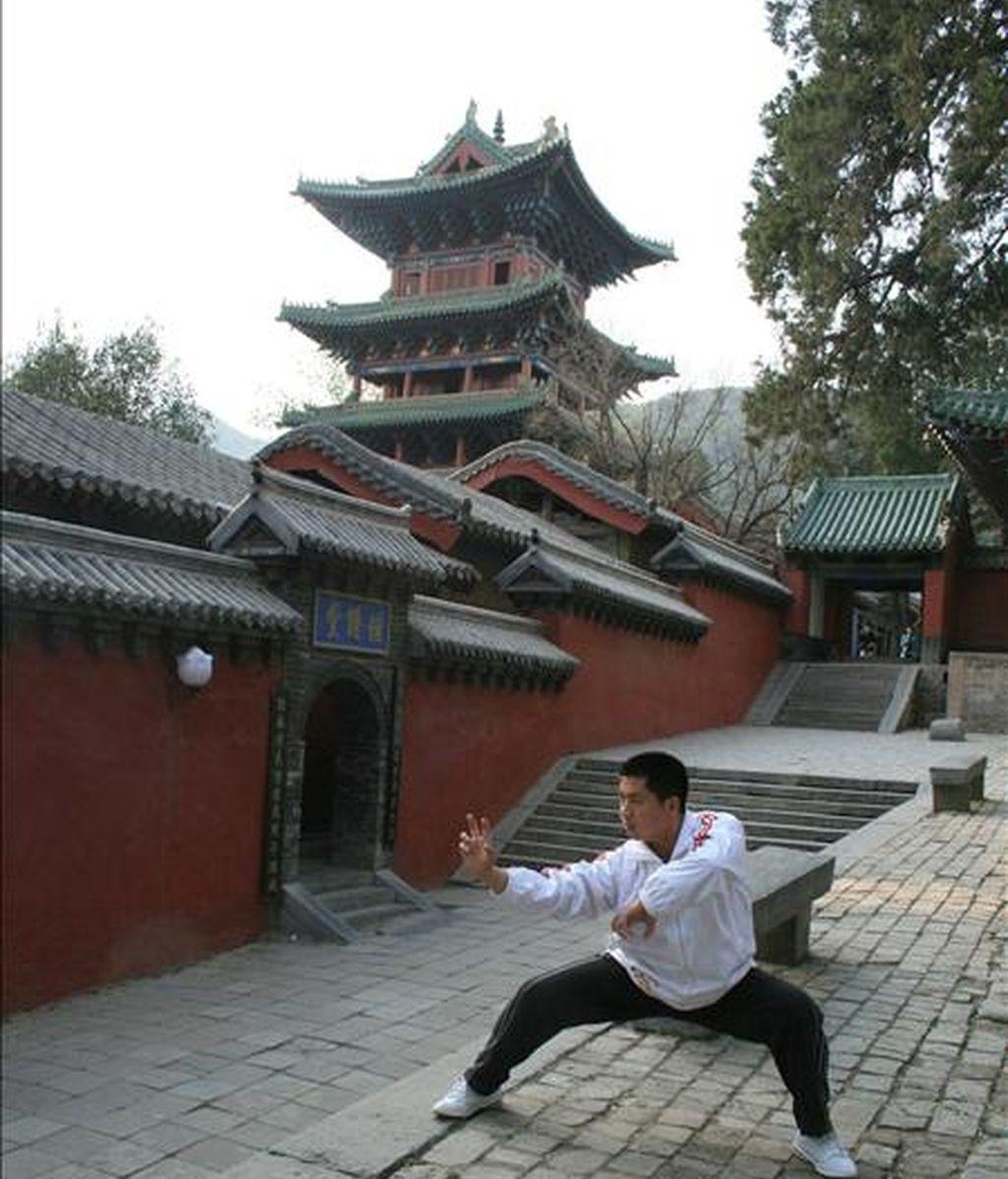 Imagen de las inmediaciones del Templo Shaolin. EFE/Archivo