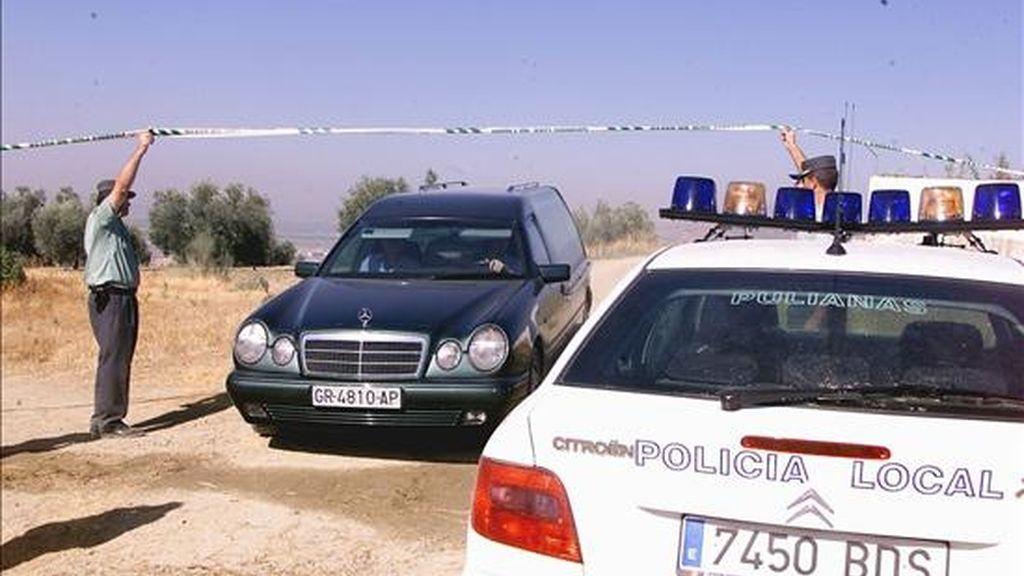 La Guardia Civil investiga el hallazgo de un cadáver carbonizado en el núcleo de población de La Cala, perteneciente al municipio malagueño de La Cala de Mijas. EFE/Archivo