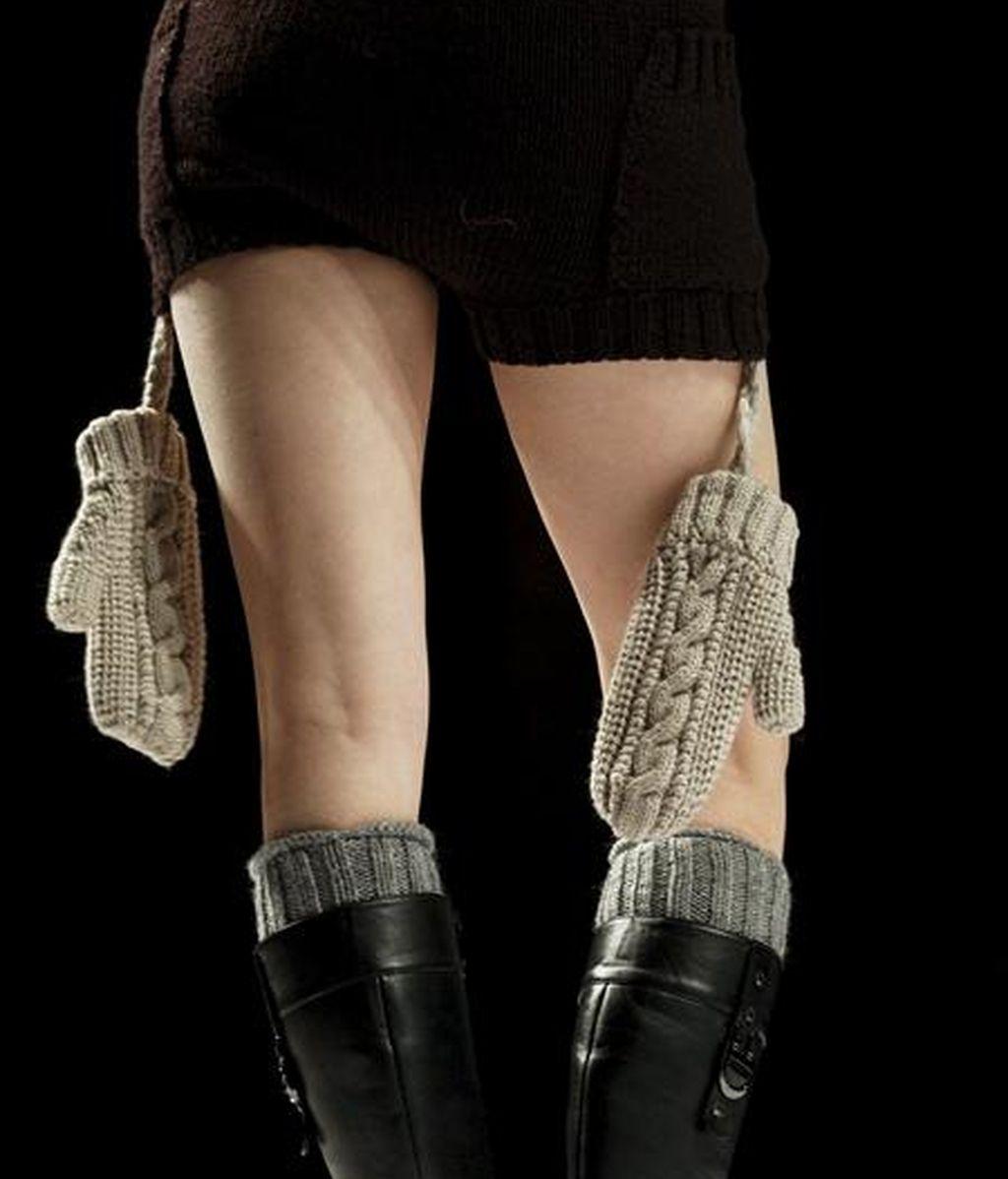Una modelo luce un diseño en el concurso Wiseman China Knitwear que se realiza en el marco de la XII edición de la Semana de la Moda de China, en Pekín. EFE