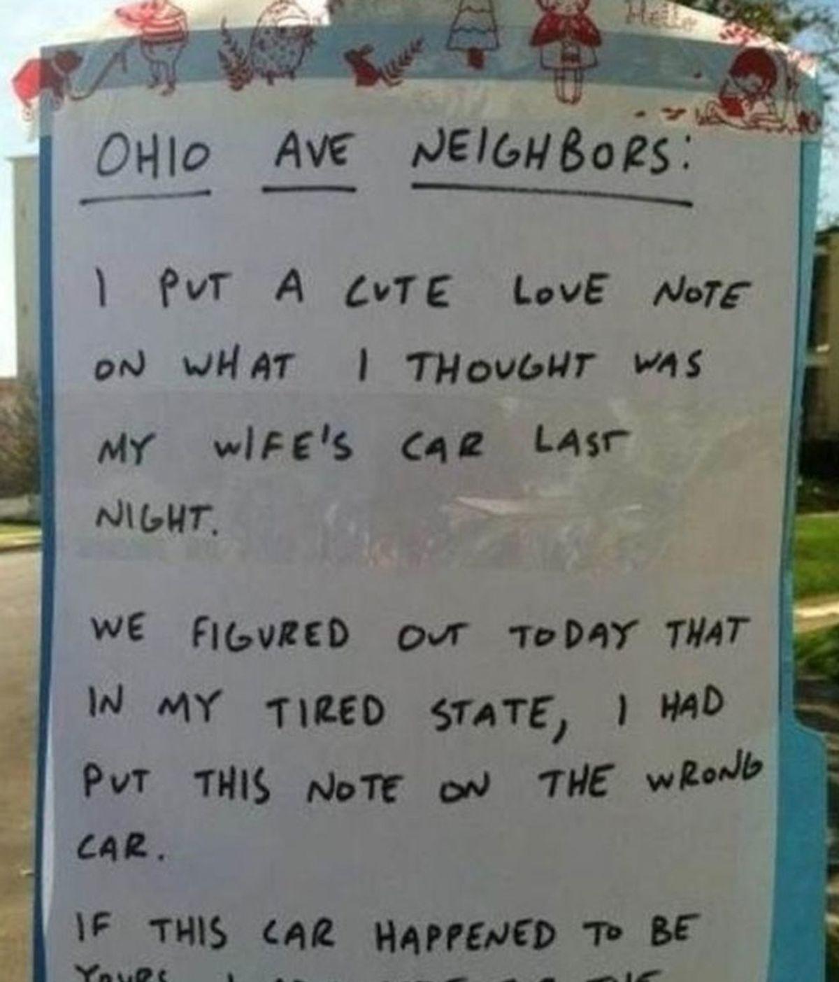 Nota romántica