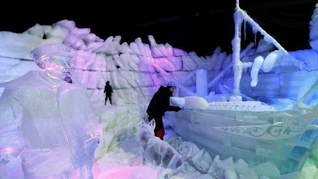 Arte sobre hielo