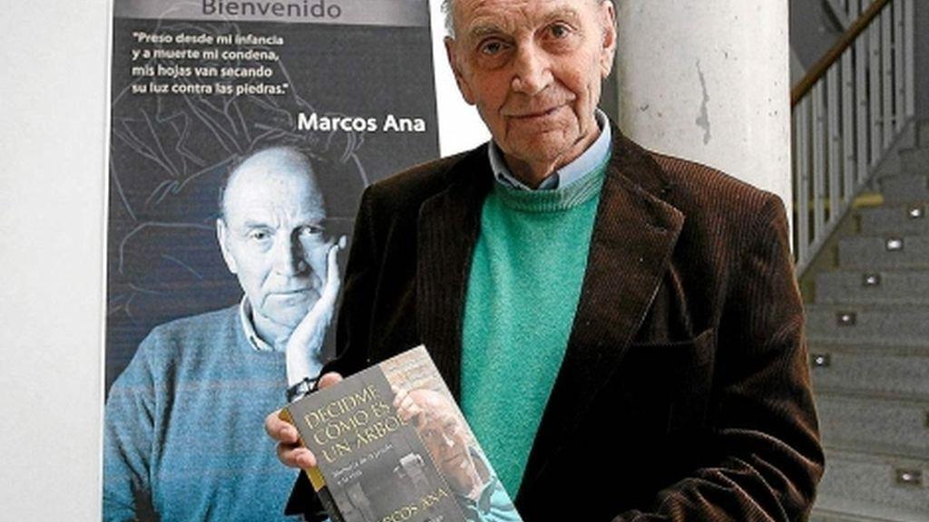El poeta Marcos Ana, ingresado en el Gregorio Marañón con pronóstico grave