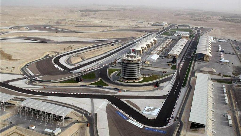 Imagen del circuito Sakhir de Bahrein. EFE/Archivo