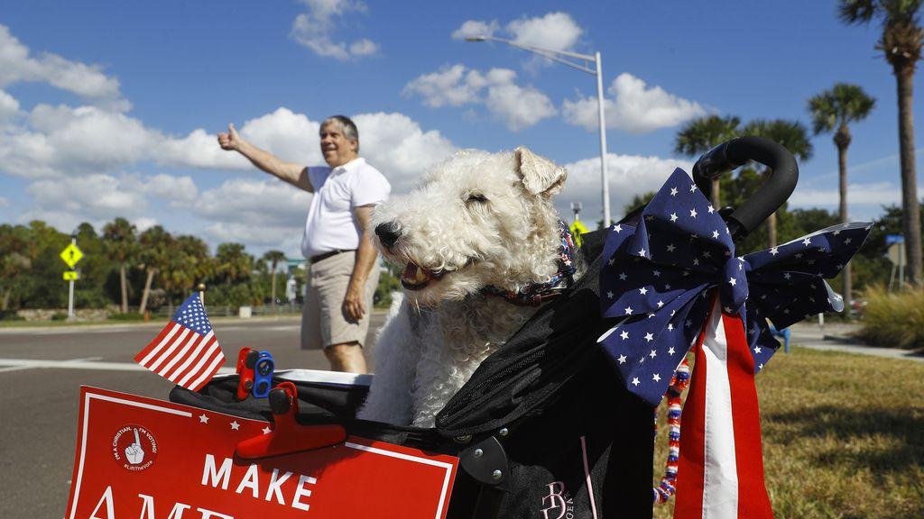 Las mejores imágenes de la jornada electoral en Estados Unidos