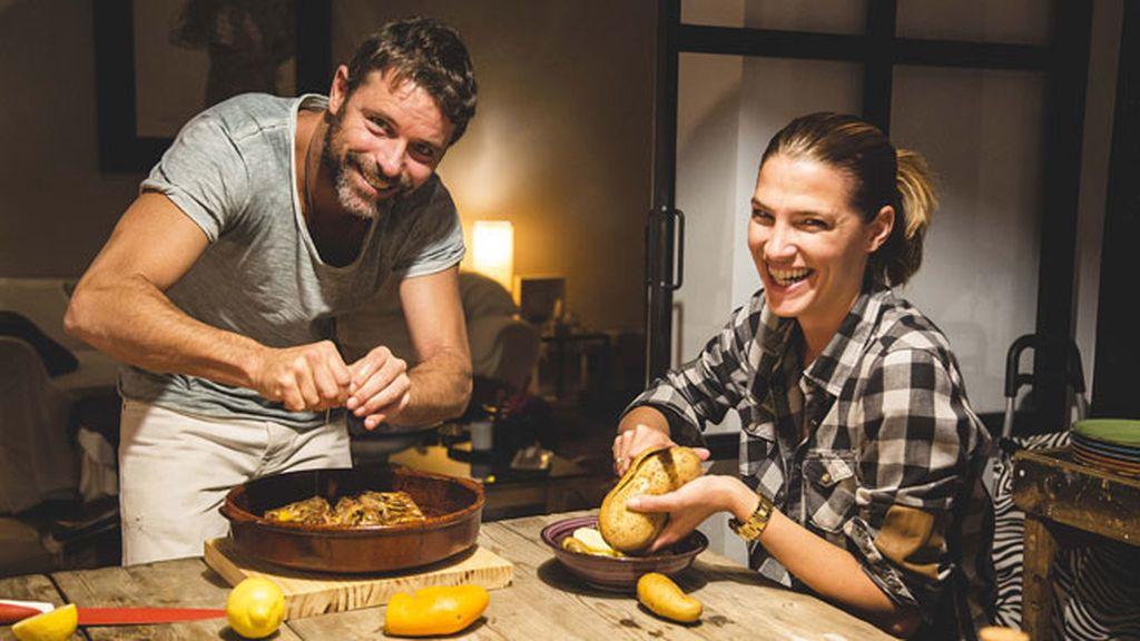 Costillas dulces, el plato estrella de Laura Sánchez y David Ascanio